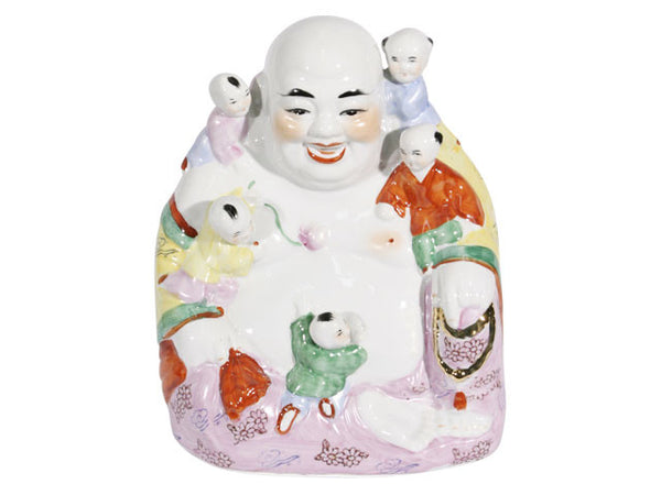 Buddha with Five Babies