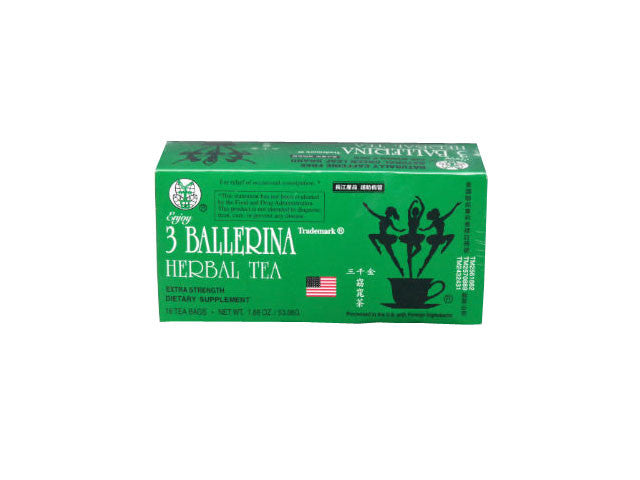 3 Ballerina Herbal Tea - 18 Teabags