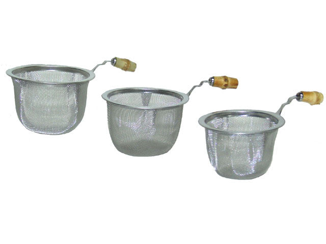 Fine Mesh Strainer with Bamboo Handle