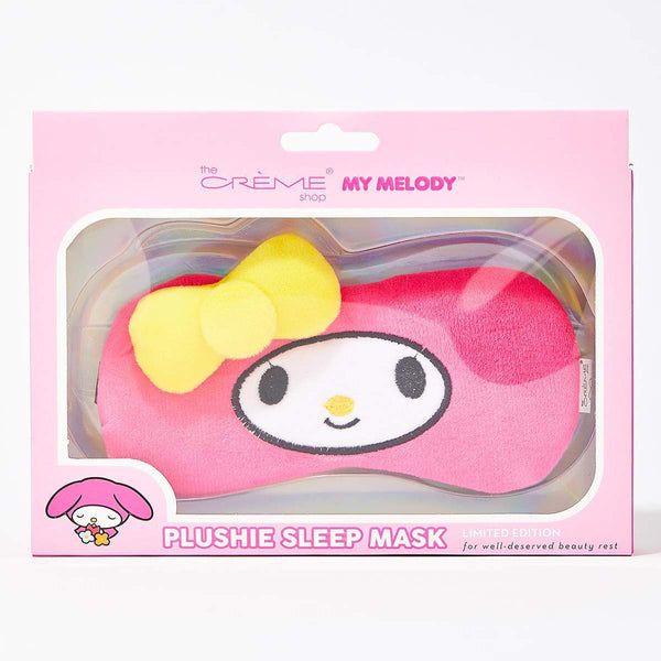 my melody plush sleep mask