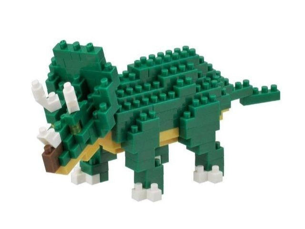 Nanoblock model of triceratops
