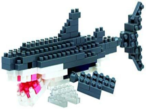 Nanoblock model of great white shark