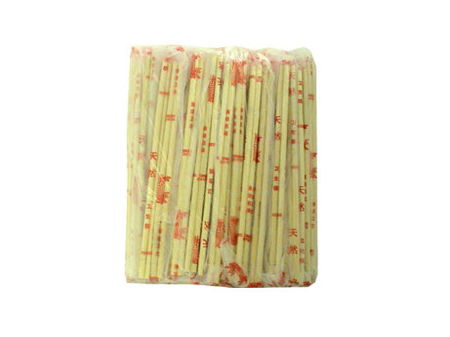 Disposable Bamboo Chopsticks in Plastic Bag - 100 pairs