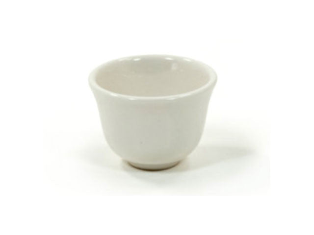 Off White Ceramic Teacup