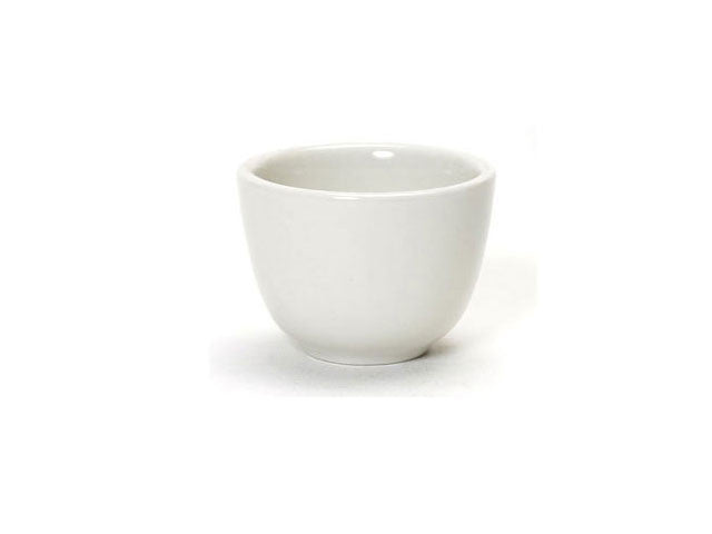 White Ceramic Teacup