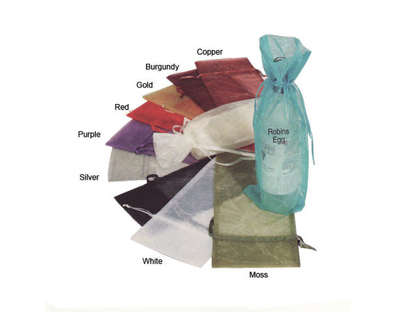Organza Wine Bag - 6.5in. x 15in. - Out of Stock