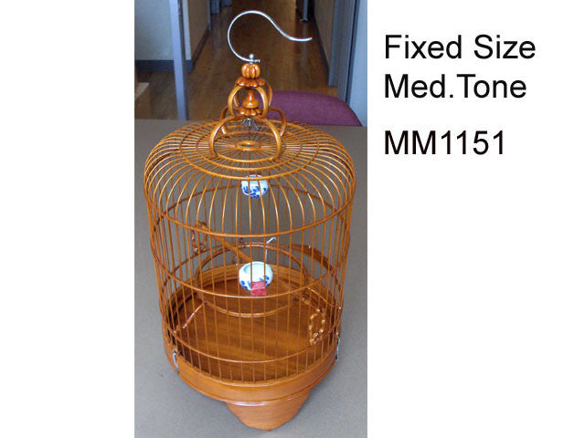 Dome Shape Bamboo Bird Cage