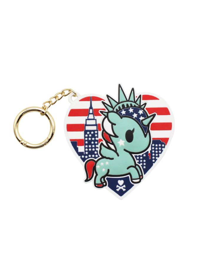 Tokidoki NYC Collection Silicone Keychain