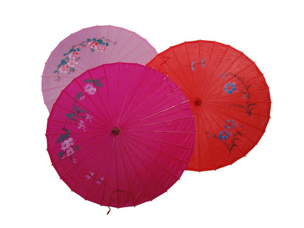 Printed Nylon Parasol - 36 in.