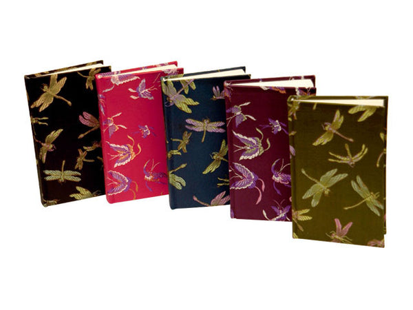 Brocade Covered Address Book - 3.5in. x 5in.