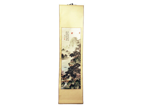 Hand-Painted Chinese Scrolls - Scenery