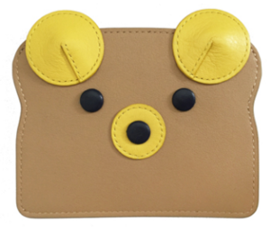 Banana Bear Card Case
