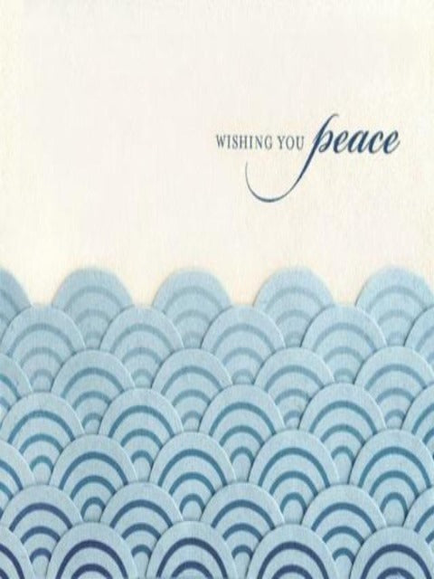 Handcrafted Cards: Peaceful Waves