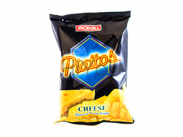 piatto's cheese flavor potato chips
