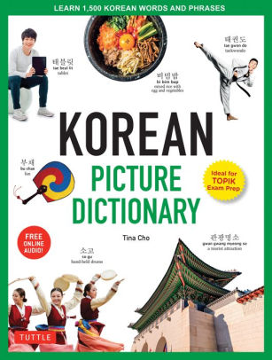 Korean Picture Dictionary cover