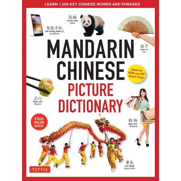 Mandarin Chinese Picture Dictionary cover