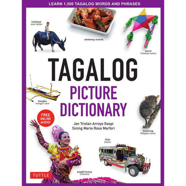 Tagalog Picture Dictionary cover
