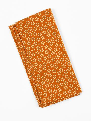 Gold Blossoms Pocket Square