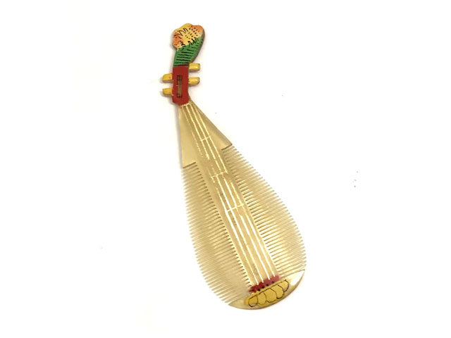 Double Sided Horn Comb - Pipa Design