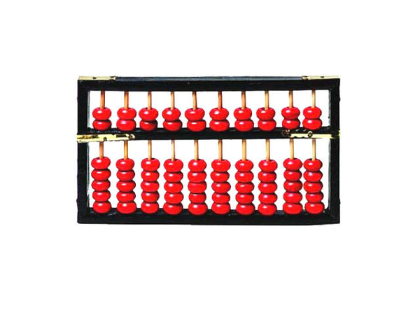 Black Framed Wooden Abacus