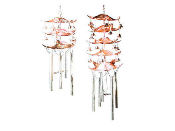 Copper Pagoda Wind Chime