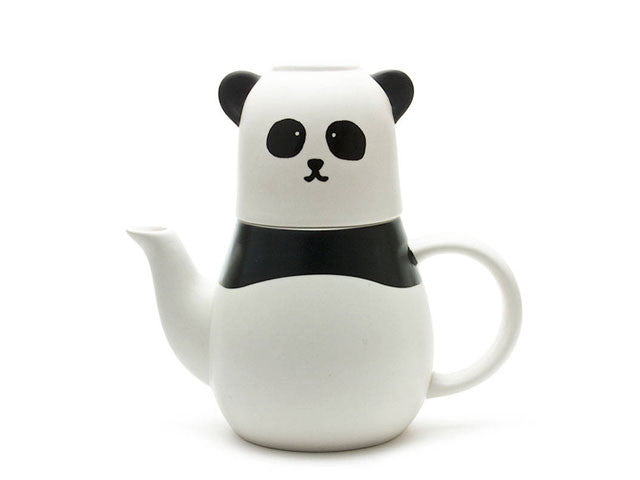 Panda Design (Tea For One) Ceramic Tea Set