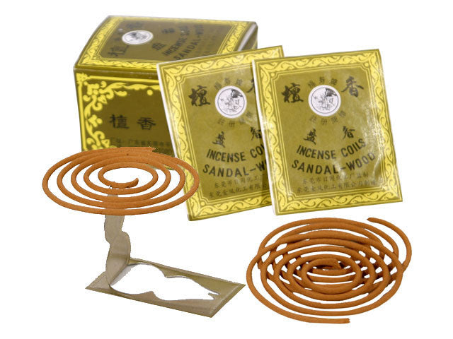 Sandalwood Incense Coils