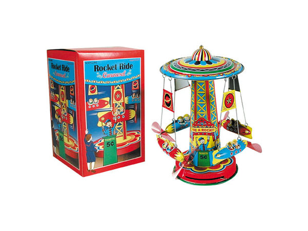 Rocket Ride Carousel (Tin)