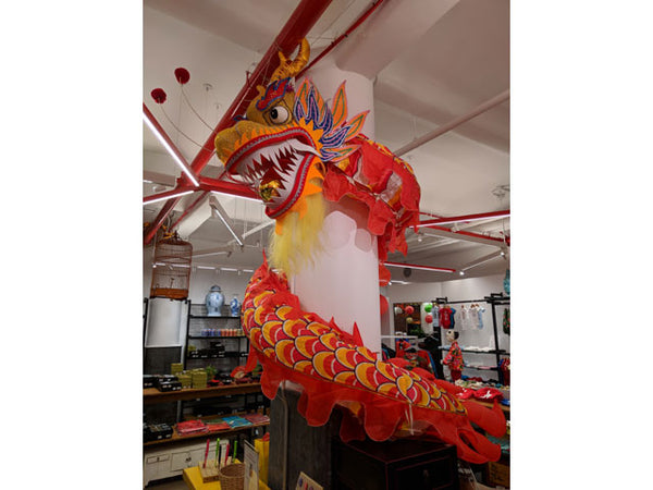 Decorative Dragon - Red/Gold