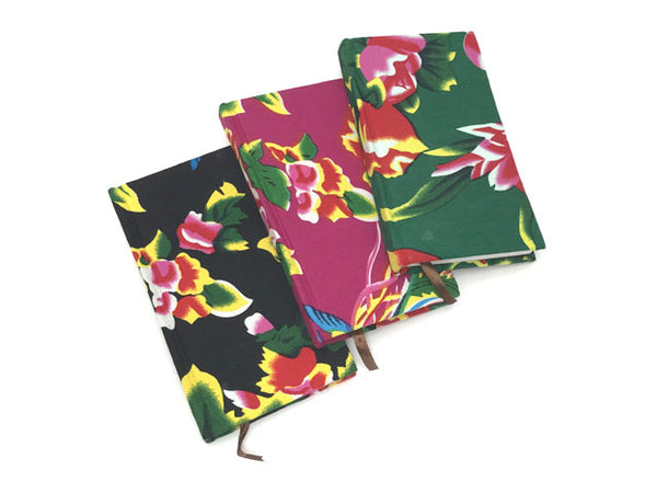 "Fabric Cover Notebook - 4"" X 7"""