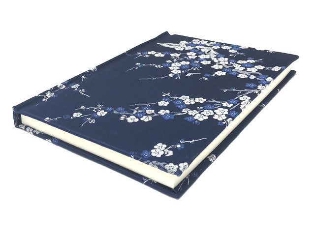 "Brocade Fabric Cover Notebook - 5.75"" X 8.5"""