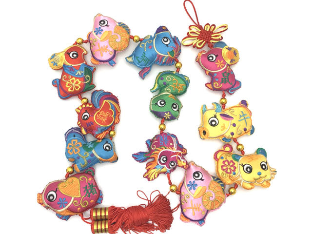 Chinese Zodiac Animal Ornament String