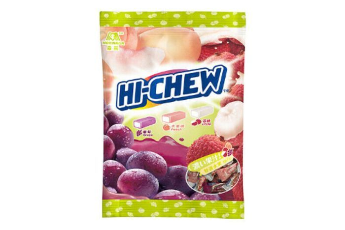Hi-Chew Grape Peach Lychee bag