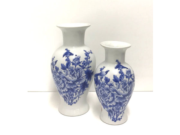 Birds and Floral Ceramic Vase ( Out of Stock All sizes )