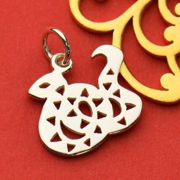 Silver snake charm