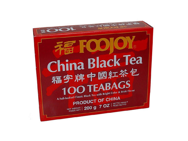 Foojoy China Black Tea - Teabag (Available in Feb 25th)