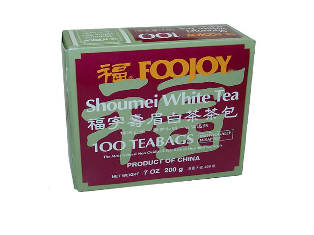 Foojoy Shoumei White Tea - Teabag