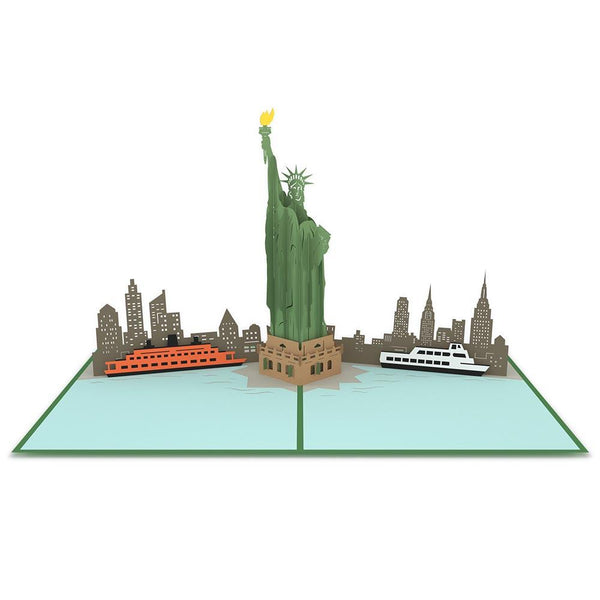 Pop-Up Card: Statue of Liberty