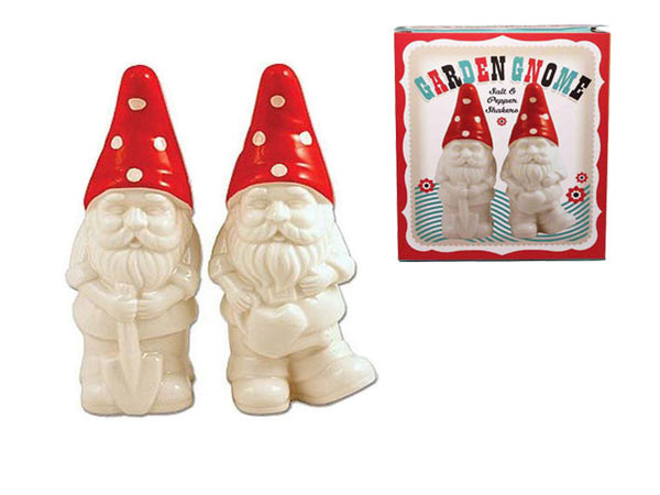 Garden Gnome - Salt & Pepper Shakers