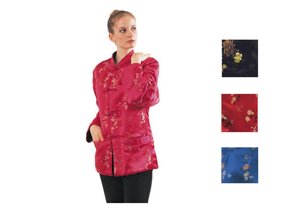 Reversible Silk Quilted Jacket