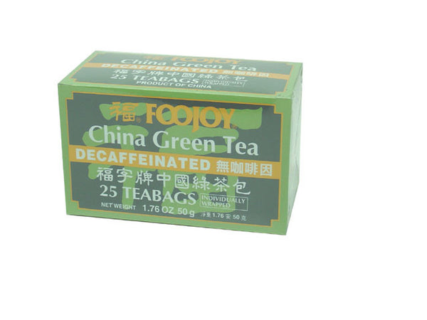 Foojoy Decaffeinated China Green Tea - Teabag