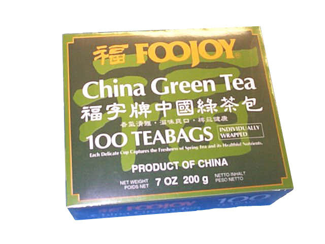 Foojoy China Green Tea - Teabag
