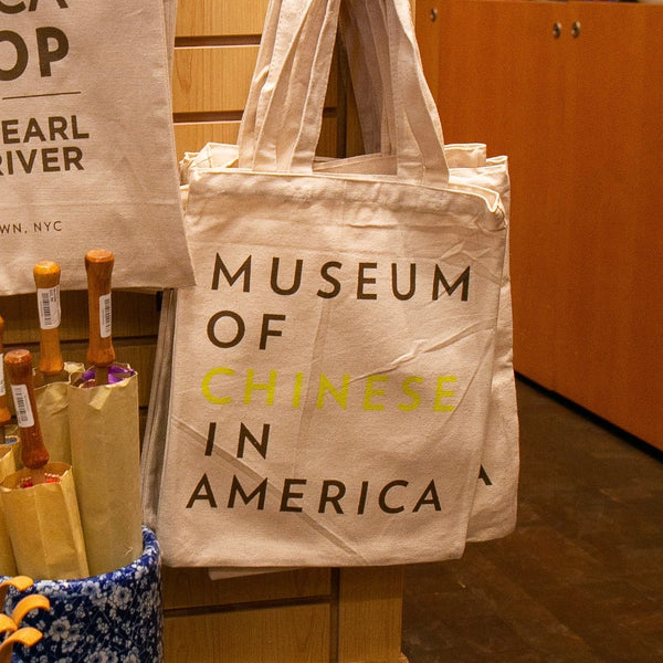 Tote bag with Museum of Chinese in America logo