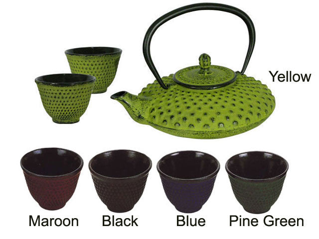 Textured Designed Cast Iron Tea-wear
