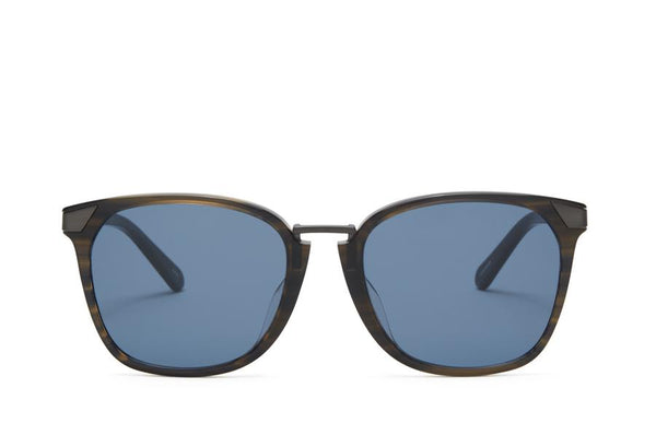 Front view of Vega moss sunglasses