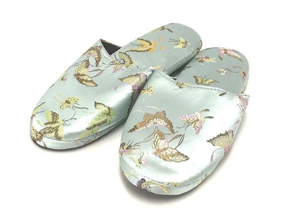Brocade Comfy Slipper - Butterfly