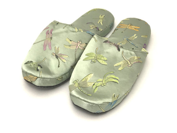 Brocade Comfy Slipper - Dragonfly