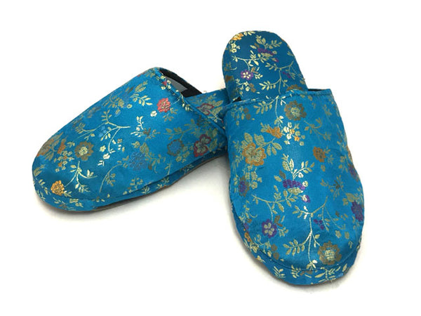Brocade Comfy Slipper - Daisy Floral