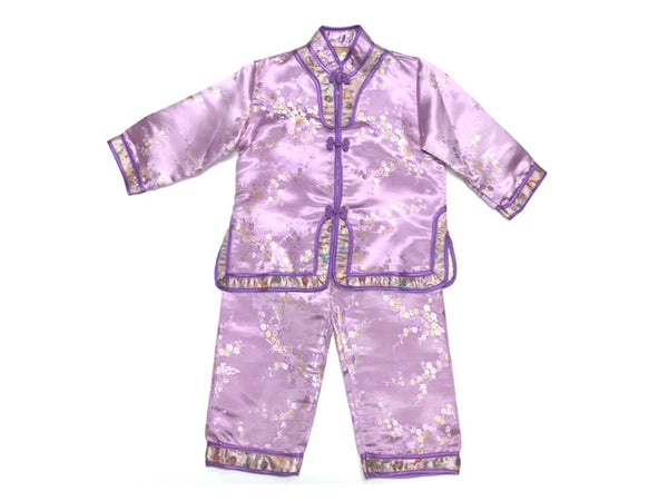 Brocade Girls Long sleeves Outfit