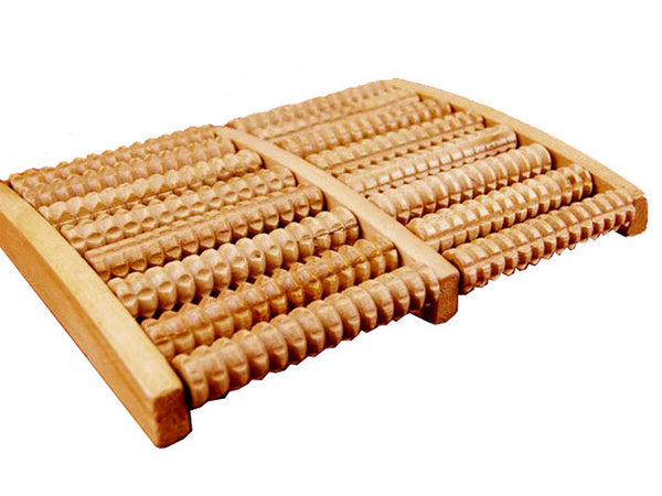 Wooden Rolling Foot Massager